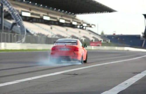 BMW M3 GTS en Nürburgring