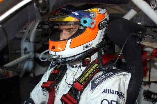 Nico Hulkenberg y el Porsche 911 GT3 R Hybrid en el Nordschleife