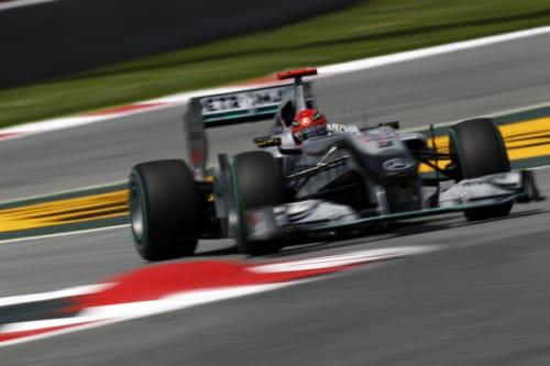 Michael Schumacher (Mercedes) - GP España 2010