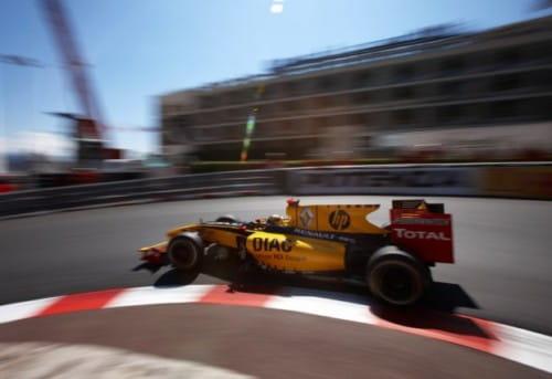 Robert Kubica (Renault) - GP Mónaco 2010