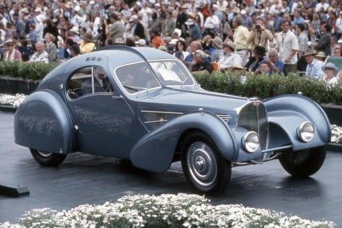 Bugatti 57sc Atlantic de 1936
