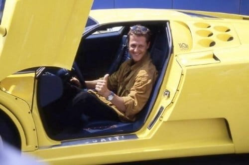 Bugatti EB110 SS de Schumacher