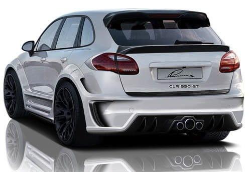 Porsche Cayenne 2010 CLR 550 GT Lumma Design