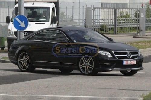 Mercedes Clase S Coupé AMG, fotos espía