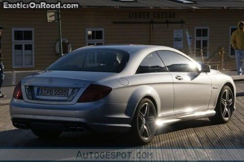 Mercedes Clase S Coupé, fotos espía