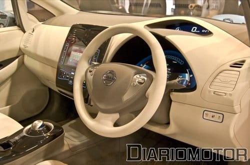 Nissan Leaf en el Salón de Madrid