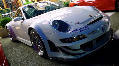 Porsche 911 GT3 convertido en RSR