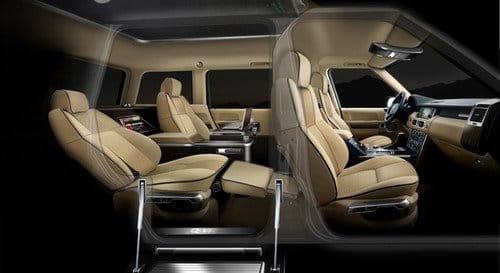 Q-VR Range Rover, un jet privado con ruedas