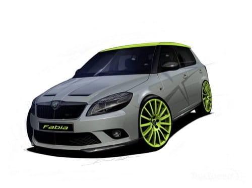 Skoda Fabia RS+ y Octavia RS+