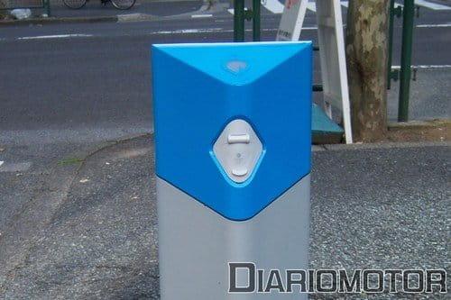 Visita a la electrolinera de Better Place en Tokyo