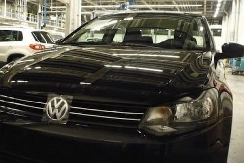 Fotografías espía del Volkswagen Polo Sedán