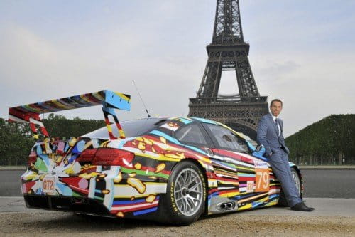BMW M3 GT2 Art Car de Jeff Koons