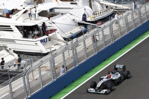Michael Schumacher (Mercedes GP) - GP Europa 2010