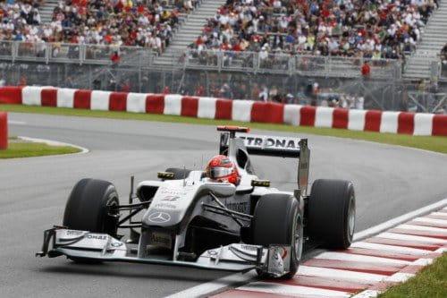 Michael Schumacher (Mercedes GP) - GP Canadá 2010