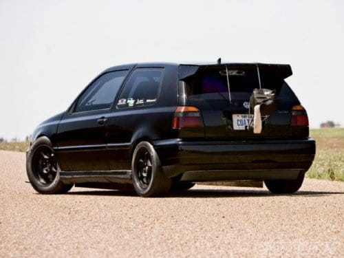 Un Volkswagen Golf VR6 con 800 CV a 335 Km/h