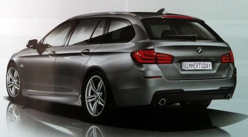BMW Serie 5 Touring paquete M-Sport filtrado
