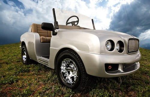 Carritos de golf basados en Rolls-Royce, Bentley o Hummer