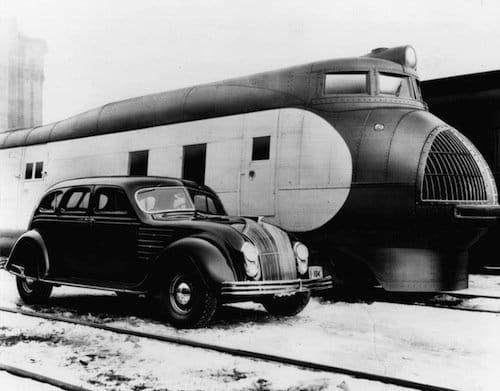 Chrysler Airflow, el primer coche diseñado en el túnel de viento