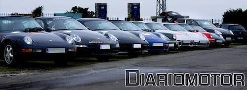 VII Concentración Club Porsche Asturias