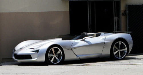 Corvette Stingray Speedster Concept