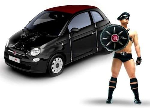 Fiat Leather 500 para el Día del Orgullo Gay