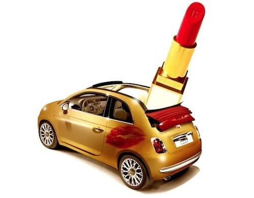 Fiat Lesbo 500C para el Día del Orgullo Gay