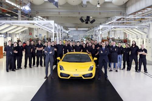 Lamborghini Gallardo nº10.000