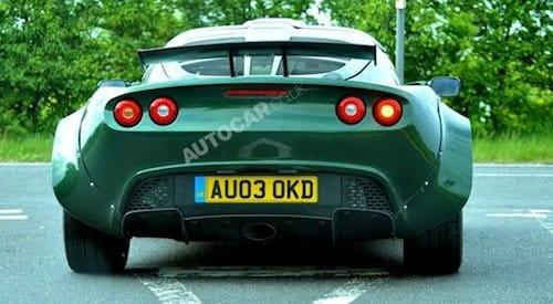 Lotus Exige V6 fotos espía