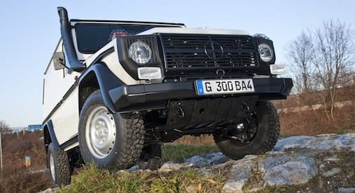 Mercedes Clase G Profesional