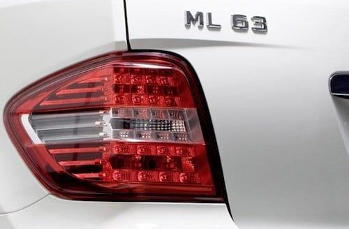 Mercedes ML63 AMG 2011
