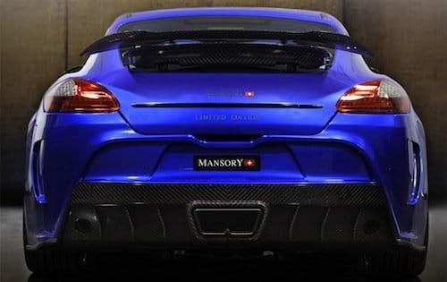 Porsche Panamera Turbo de Mansory