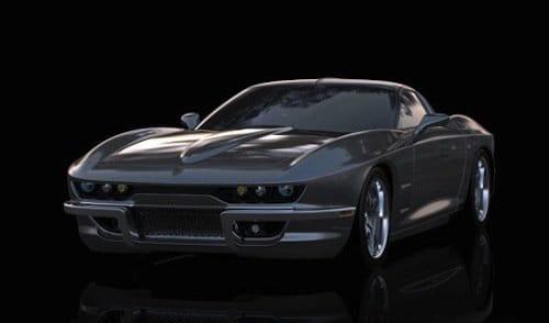 Rossi SixtySix, el retorno del Corvette C2 a través del C6