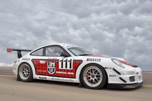 El Porsche 911 GT3 Cup que asombró al mundo en Pikes Peak