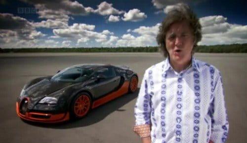 top gear prueba el bugatti veyron super sport. Black Bedroom Furniture Sets. Home Design Ideas