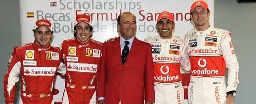 La F1 piede brillo