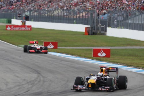 GP Alemania 2010 - Red Bull