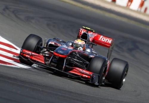 McLaren - GP Gran Bretaña 2010