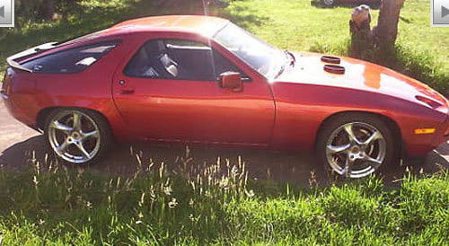 Porsche 928 powered by Boeing