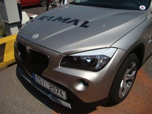 Alfa Romeo SUV montado sobre el BMW X1