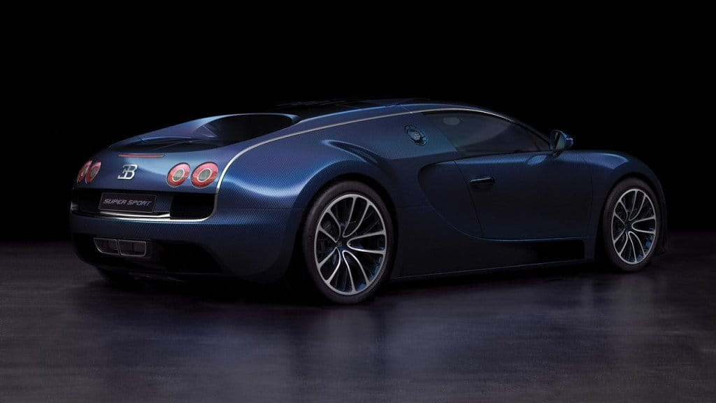 bugatti veyron 16 4 super sport blue carbon fiber foto. Black Bedroom Furniture Sets. Home Design Ideas
