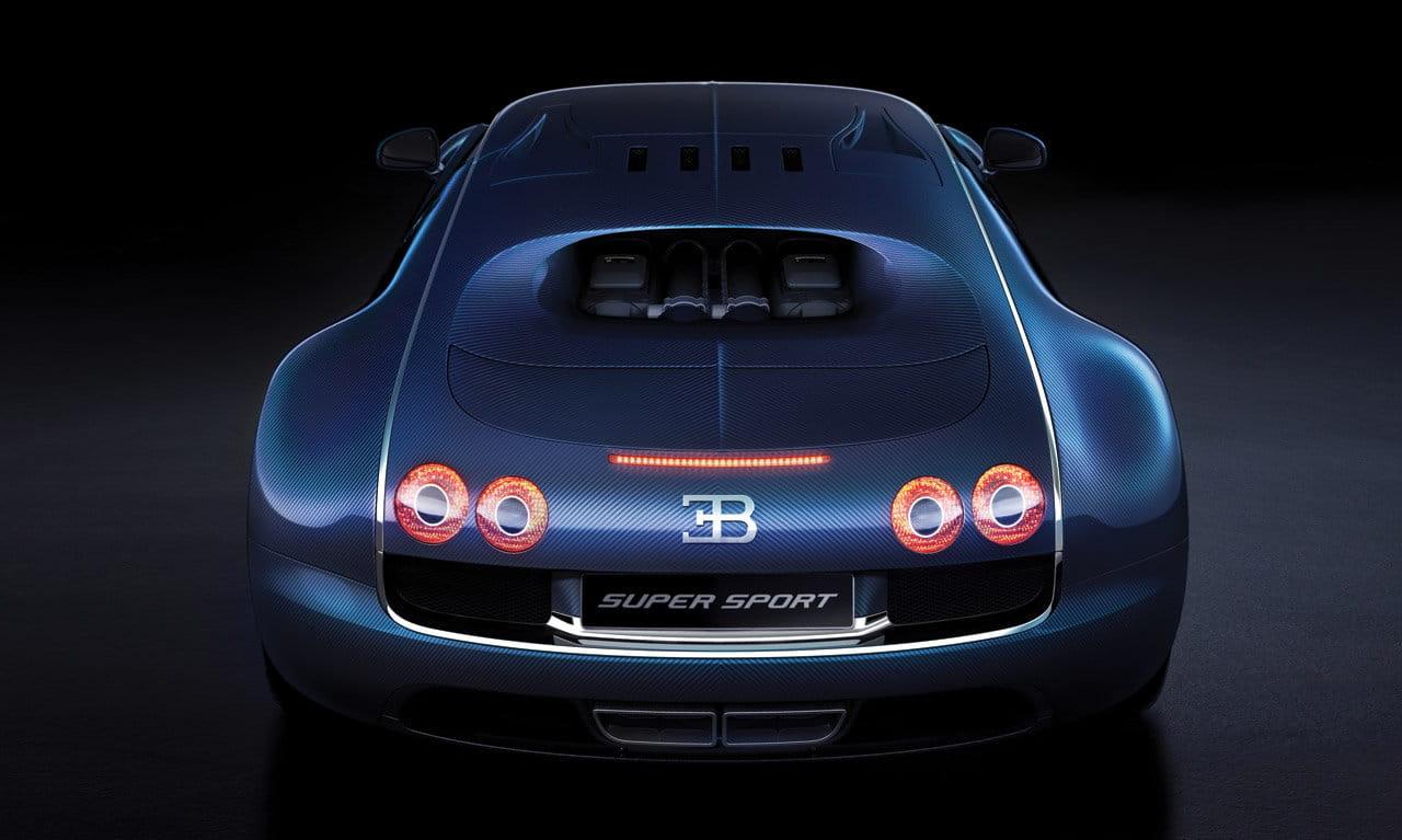 Galería de fotos bugatti veyron 16 4 super sport blue carbon fiber