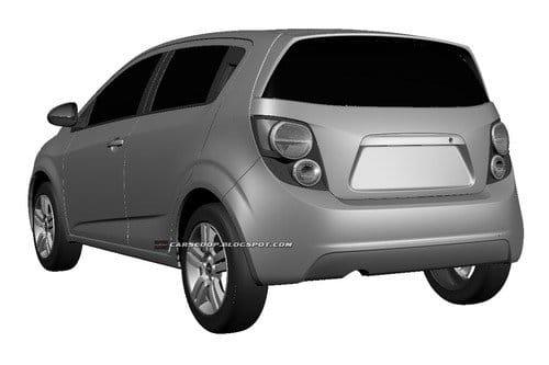 Nada nuevo bajo el sol: el diseño final del renovado Chevrolet Aveo
