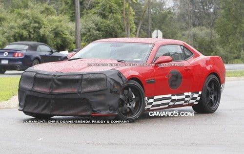 Fotos espía del inminente Chevrolet Camaro Z28