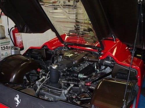 Ferrari F50 del Sultán de Brunei