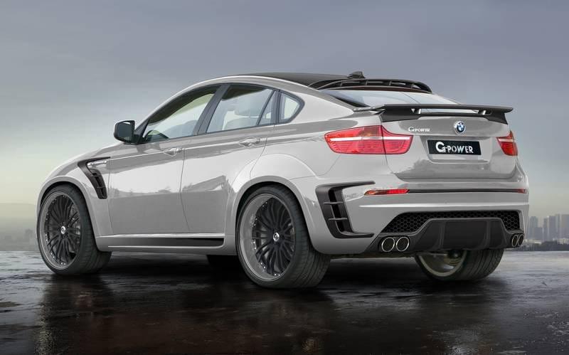 ¿900 CV para un BMW X6 M no es pasarse? G-Power piensa que no - Diariomotor