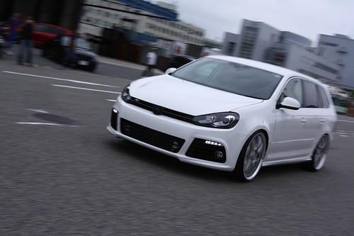 Probablemente el único Volkswagen Golf Variant R del mundo