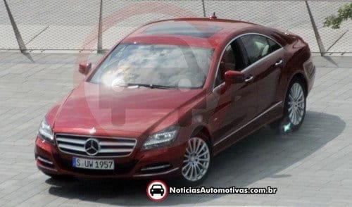 El nuevo Mercedes CLS, desnudo desde todos los ángulos