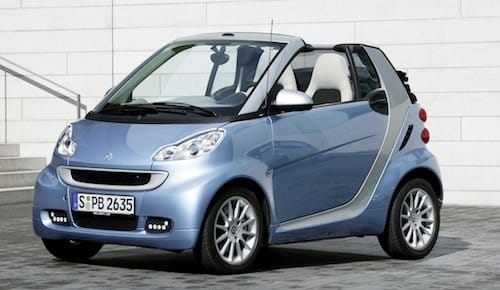 Smart Fortwo Cabrio 2010