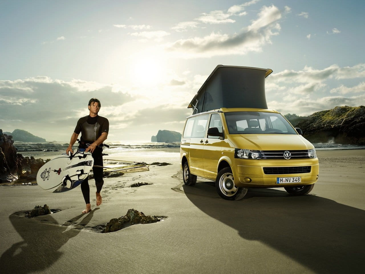 volkswagen california beach y comfortline diariomotor. Black Bedroom Furniture Sets. Home Design Ideas
