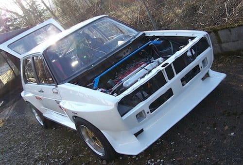 Volkswagen Golf GLS convertido en GTi-R, con 450 CV